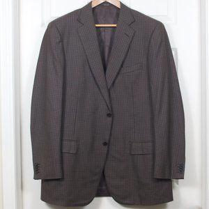 E Zegna 56L (46L NA) Wool 2-Button Sport Coat